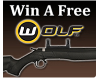 Each month there will be a random drawing, the winner will be awarded a CVA Wolf. Click here for more details.