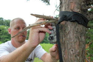 Trail cameras are one of the least-expensive ways to monitor the human and animal activity on your property