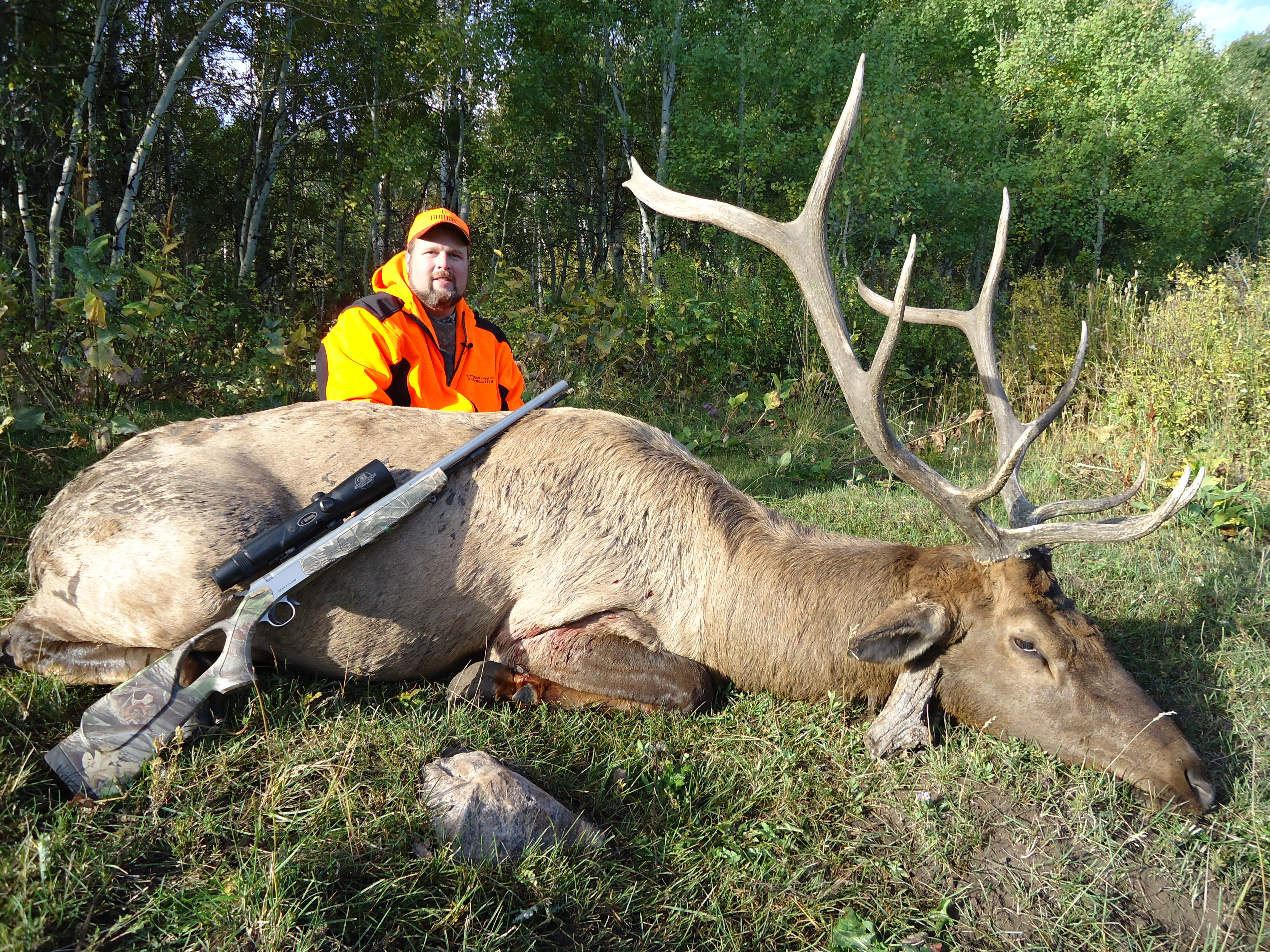 Steve West On His Utah Elk Hunt Uses CVA's Accura V2