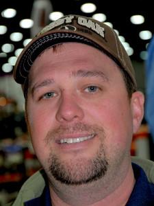 Dave Parrott, an avid deer hunter from Louisville, Kentucky.